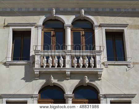 Detail Of A Beautiful Facade