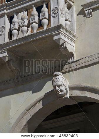 Detail Of A Renaissance Facade