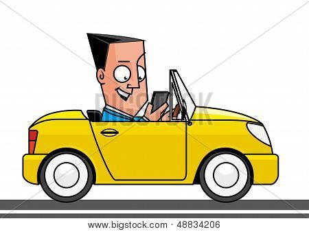 Driving And Using A Smartphone