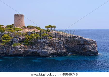 Torre De Cala Pi In Mallorca