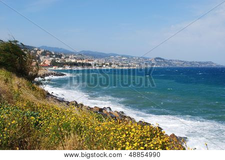 San Remo Town And Coast