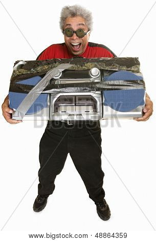 Vamos a hombre con Boom Box