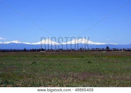 Three Sisters Volcanos