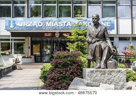 Statue Of Andrzej Chramiec, Zakopane