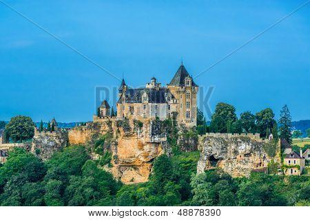 VITRAC, FRANCE - JUNE 23: exterior of Chateau de Monfort Souillac on June 23th, 2012 at Dordogne Perigord France