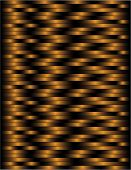 Black and copper woven lines to create a basket weave illustration that can be seamlessly tiled.. poster