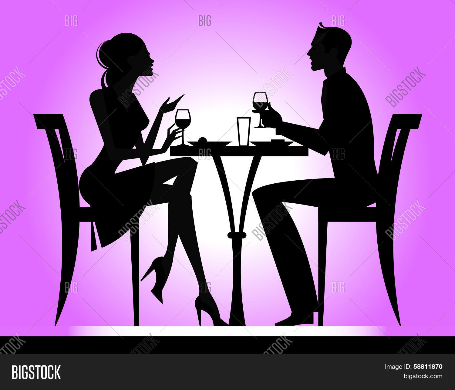 Dining Silhouette
