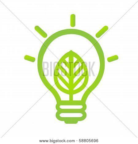 Eco Lamp Symbol