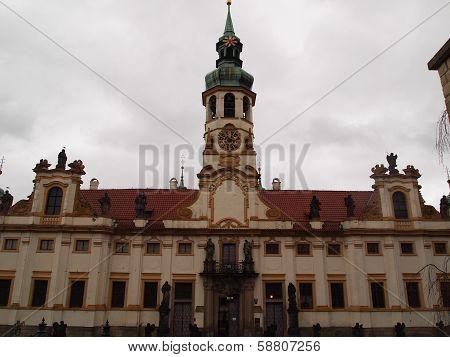The Loreta church in Prague, Czech Republic