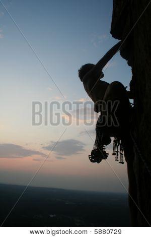 Sunset Rock Climbing