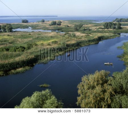 Mouth Of The Vorskla River