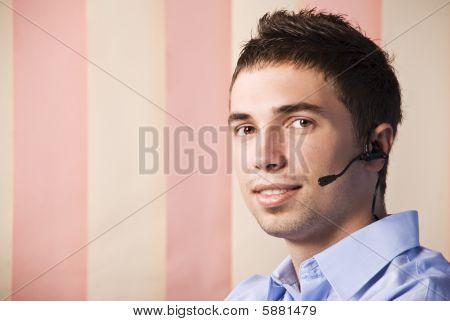 Customer Service Man