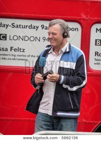 Tony Blackburn At River Thames Festival 13Th September 2009