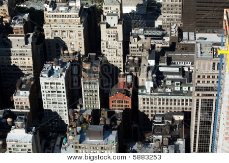 View Of New York City Rooftops