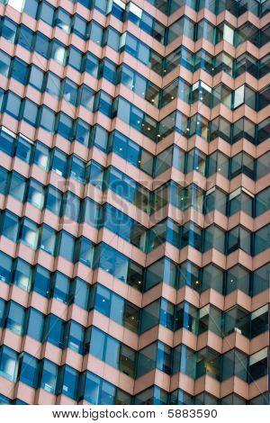 Zig-Zag Architectual Abstract