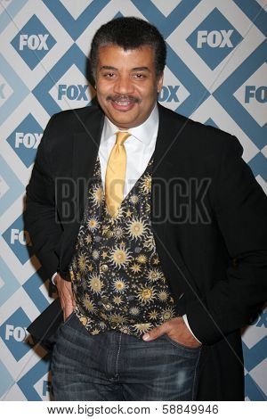 LOS ANGELES - Jan 13:  Neil deGrasse Tyson at the  FOX TCA Winter 2014 Party at The Langham Huntington Hotel onJanuary 13, 2014 in Pasadena, CA