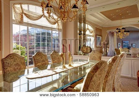 Luxuriant Bright Dining Room