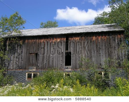 Old Weathern Barn Exterior