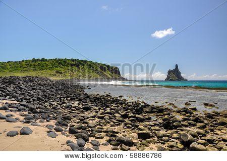 Beach Of Atalaia, Fernando De Noronha, Pernambuco (brazil)