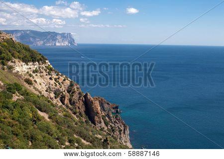 Crimea Foreland At Summer Day