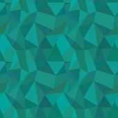 Seamless Geometric Polygonal Pattern, Background, Texture Vector. Illustrator Pattern Swatch is available. Fully editable poster