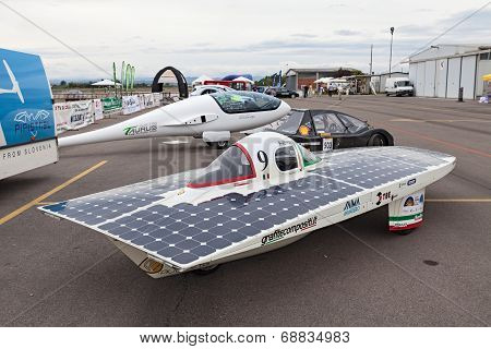 Italian Solar-powered Vehicle