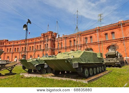 Soviet Mobile Command Centers Bmd-1Ksh And Btr-50Pu