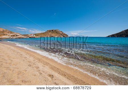 Kalafatis Beach In Mykonos