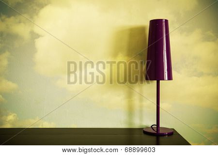 Lamp On Desk