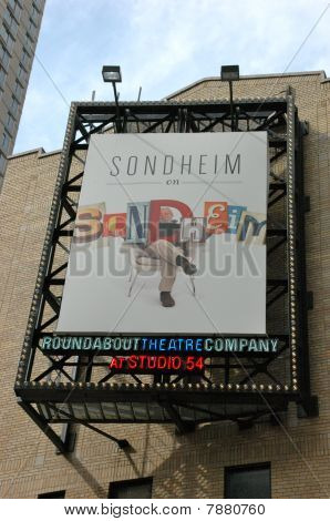 Roundabout Theatre Marquee