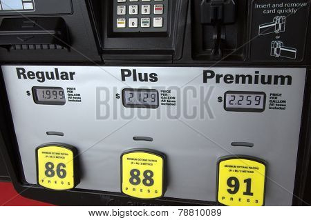 Low Gas Prices At The Pump