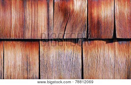 Wood Tiled Roof Shingles