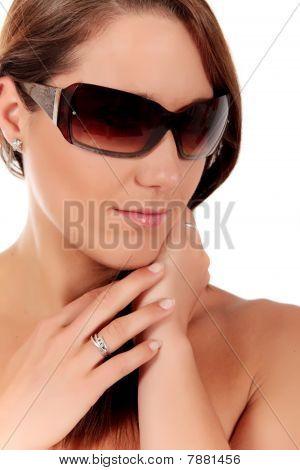 Attractive Woman Body Care