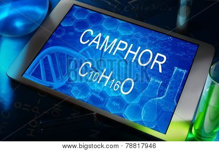 the chemical formula of camphor