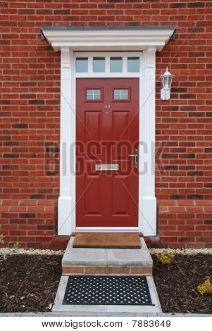Red Brick House (entrance Detail)