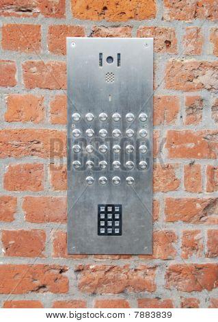 Intercom Doorbell And Access Code