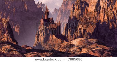 Castle in Mountain Canyon