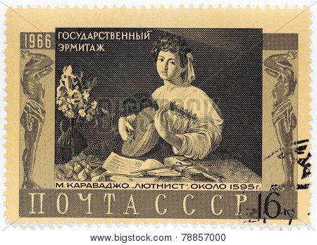 Caravaggio Stamp