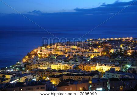 Morro Jable At Night, Fuerteventura