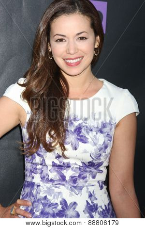 LOS ANGELES - April 21:  Teresa Castillo at the  2015 Daytime EMMY Awards Kick-off Party at the Hollywood Museum on April 21, 2015 in Hollywood, CA