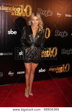 LOS ANGELES - April 21:  Witney Carson at the