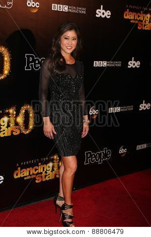 LOS ANGELES - April 21:  Kristi Yamaguchi at the