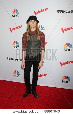 LOS ANGELES - April 23:  Sawyer Fredericks at the
