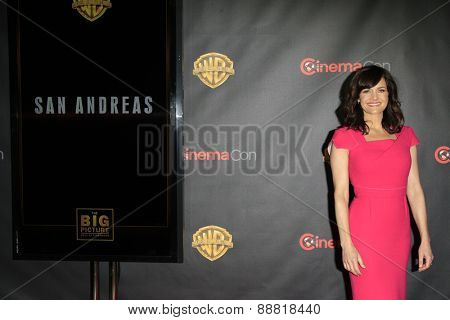 LAS VEGAS - APR 21: Carla Gugino at the Warner Bros. Pictures Exclusive Presentation Highlighting the Summer of 2015 and Beyond at Caesars Pallace on April 21, 2015 in Las Vegas, NV