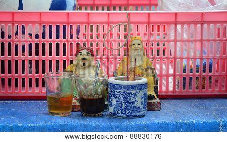 Tu Di Gong, A Chinese Earth God Worshipped