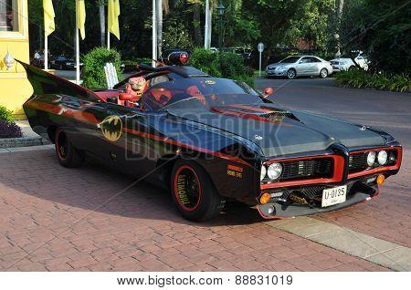 Vintage Cars  At A Car Show On December 16, 2014 In Hua Hin, Tha
