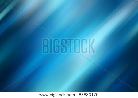 Blue motion blur abstract background, digitally generated image of blue light and stripes moving fas