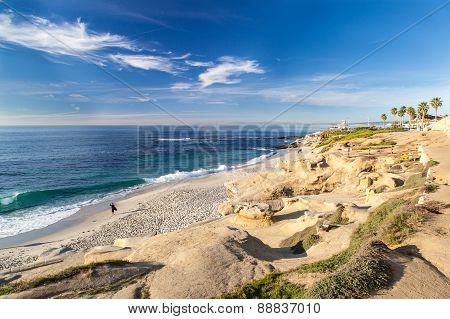 La Jolla Cove Beach, San Diego, California