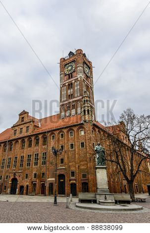 Old Market Square in Torun.