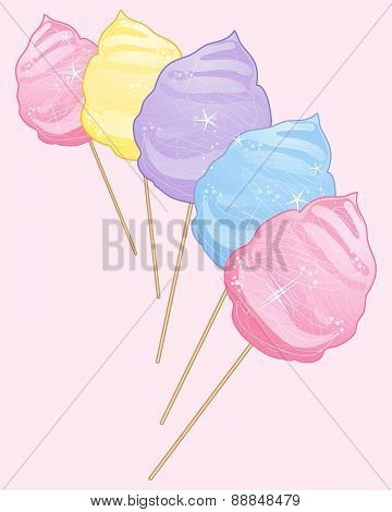 Cotton Candy Confectionery